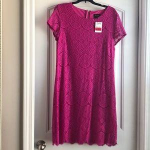 Laundry hot pink dress